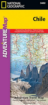 National Geographic Adventure Map Chile